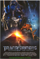 TRANSFORMERS 2  REVENGE OF THE FALLEN MOVIE POSTER Original SS 27x40