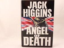 LIKE NEW! Angel of Death by Jack Higgins (1995, Hardcover w/ Dust Jacket)