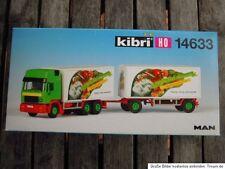 Kibri 14633 H0 MAN High roof Tin suspension train like factory-new boxed