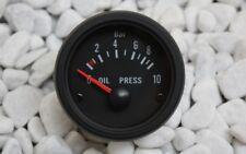 Öldruck Anzeige SET 52mm Retro Look mit Geber Messer 16V G60 G40 VR6 TURBO S2 GT