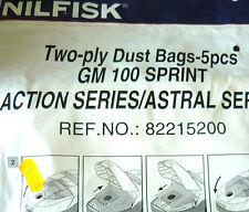 82215200 - 5 sacs pour aspirateur NILFISK GM 100 SPRINT SERIES ACTION/ASTRAL