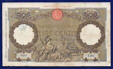 Italy, 1936 100 Lire Banknote (Ref. b0389)