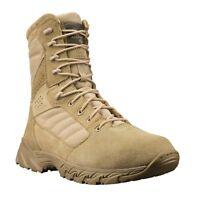 """Altama 365802 / 365803 Footwear Men's Foxhound SR 8"""" Boot - Tan / Coyote Suede"""