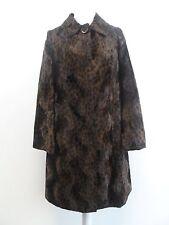 Women's Other Knee Length Faux Fur Button Coats & Jackets