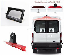 "7"" inch Monitor with Backup 3rd Brake Light Camera System For Ford Transit Van"