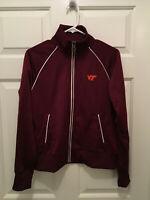 Virginia Tech Hokies Women's Soccer Team Issued Nike Full Zip Jacket Medium