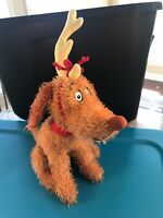 Kohls Cares Max the Dog Plush Stuffed Animal Toy Dr Seuss Grinch Stole Christmas
