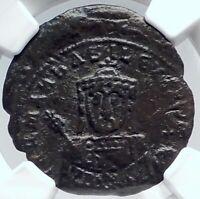 Romanus I Lecapenus 931AD Authentic Ancient Medieval Byzantine Coin NGC i81805