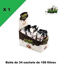 Filtre JASS slim 6 mm 1 boite de 34 sachets de 150 filtres