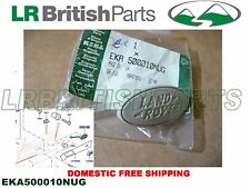 GENUINE LAND ROVER FRONT DOOR DECAL NAME PLATE RANGE R. SPORT 05-09 EKA500010NUG