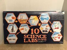 1995 Natural Science Industries 10 Science Labs in One New in Factory Sealed Box