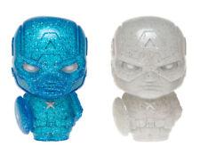 Marvel Captain America Blue & White Hikari XS Vinyl Figure Set