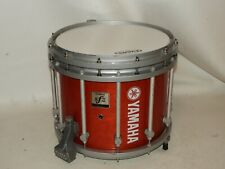 """Yamaha 14"""" SFZ Marching Band Snare Drum Red Forest Stain 9200 Series"""