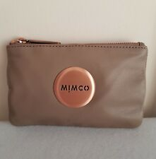 FREE POST MIMCO BALSA ROSE GOLD SMALL MIM POUCH SHEEPSKIN INNER CARD SLOTS RRP79