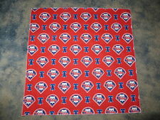 "MLB PHILADELPHIA PHILLIES BASEBALL HEAD BANDANA --  22 1/2"" HEAD BANDANA"