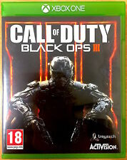Call of Duty Black Ops III-Xbox One Spiele-sehr guter Zustand-COD