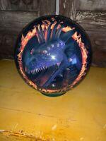 Brunswick Viz-A-Ball Fantasy Dragon Ring Of Fire DISCONTINUED 7lb Bowling Ball