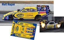 CD_MM_035 Matt Hagan  Magniti Marelli Dodge Charger Funny Car 1:24 decals  ~NEW~