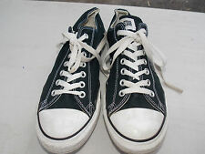 2000's Black with White Stitch Low Canvas Coverse Men's 11 FREE SHIPPING (used)