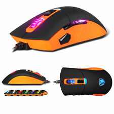 SADES S8 Gaming Mouse Adjustable 8 Buttons LED Light Professional Game Mice