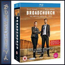 BROADCHURCH - COMPLETE SERIES 1 2 & 3   **BRAND NEW BLU-RAY BOXSET***