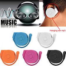 Sport Ohrhörer USB Digital MP3 Musik Player Unterstützung 32GB Micro SD TF Karte