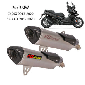 For BMW C400X C400GT Motorcycle Exhaust Pipe 51mm Muffler Pipe Original System