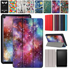 """For Amazon Kindle Fire 7 2019 9th Gen 7"""" Inch Tablet Case Leather Pattern Cover"""