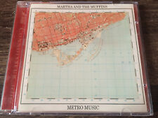MARTHA & THE MUFFINS - Metro Music CD New Wave / Synth Pop / Made In Canada