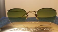 RARE Oliver Peoples Original Vintage sunglasses. OP 28a 12KGF, Antique Gold.