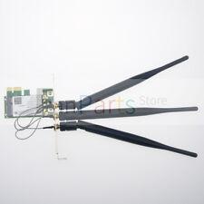 Dual-Band 2.4/5GHz 300M Desktop PCI-E Wireless Card+3 Antenna For Intel 4965AGN