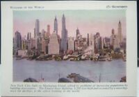Vintage Cards Wonders of the World 5 Skyscrapers New York Tally Sets