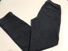 CABI JEANS SLIM BOYFRIEND Blue Gray Size 10 INSEAM 30