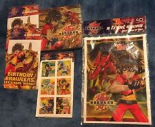 Bakugan Complete Party Pack 16 Invitations 16 Napkins 16 Party Bags 24 Stickers