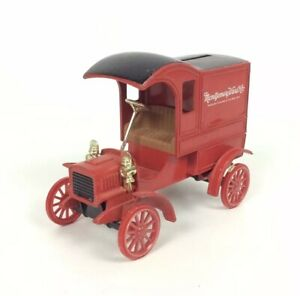 Montgomery Ward Die Cast Metal Bank 1905 Replica Ford First Delivery Car Truck