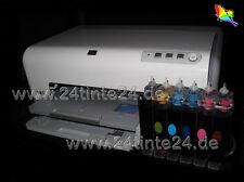CISS HP Photosmart C7180 C7280 D7160 D7360 6 x 363 HP363 Inktec C8719 C8721