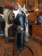 Western Leather Gun Holster  Single Actuon Cowboy Action Lined