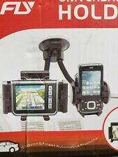 Fly Universal Car Holder Compatible with Mobile, PDA, GPS, and MP4