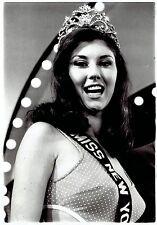 "1969 Vintage Photo crowned ""Miss New York"" Beauty Pageant winner Rosemary Hradek"