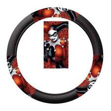 Plasticolor   Batman Harley Quin Ha Ha Speed Grip Steering Wheel Cover NEW~!