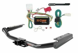 Curt Class 3 Trailer Hitch & Custom Wiring Connector for Toyota Highlander