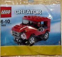 Lego creator 7803, jeep,  set, poly bag, birthday bag filler