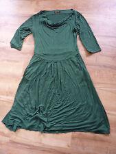 Polyester Cowl Neck Tea Dresses