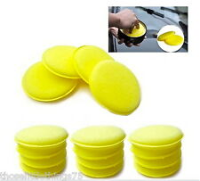 12 x car foam waxing pads vehicle sponge applicator clean paint polish polishing