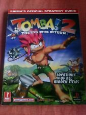 TOMBI/TOMBA 2 STRATEGY GUIDE PS1 PSX PSone SONY