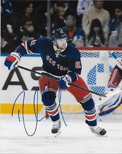 Autographed New York Rangers Rick Nash 8x10 Photo Original
