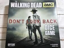 The Walking Dead AMC Dice Game Don't Look Back 1-4 Players Ages 15+