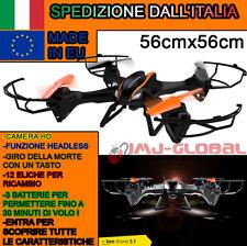 RC DRONE QUADRICOTTERO 2.4 GHZ XBEE 5.1 3 BATTERIE ROTAZIONE 360° CAMERA HD