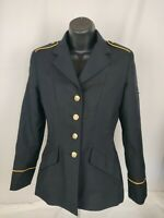 US Army Women's ASU Dress Blue Service Uniform Jacket Coat Bremen Bowdon 14MP