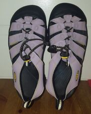 Keen Newport H2 Lilac/Lavender Waterproof Sandals Beach Durable Shoes Size 3 Euc